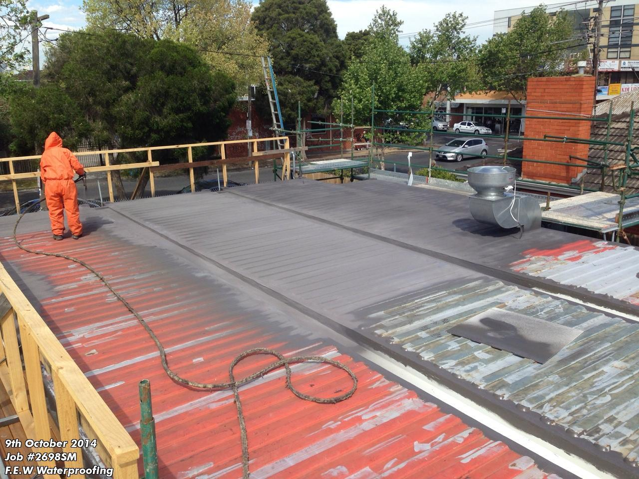 Melbourne Waterproofing Company Waterproofing Spray On