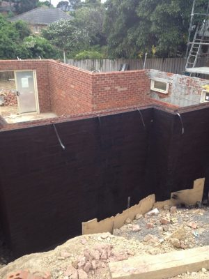 Below Ground Waterproofing Melbourne