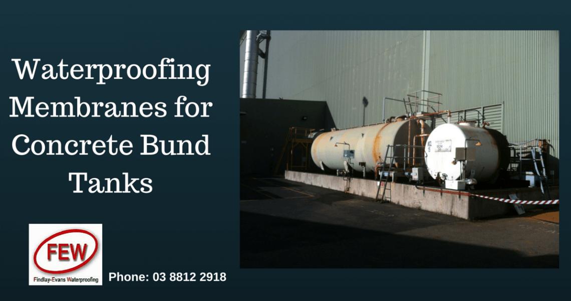 Repair Concrete Bunding Tanks