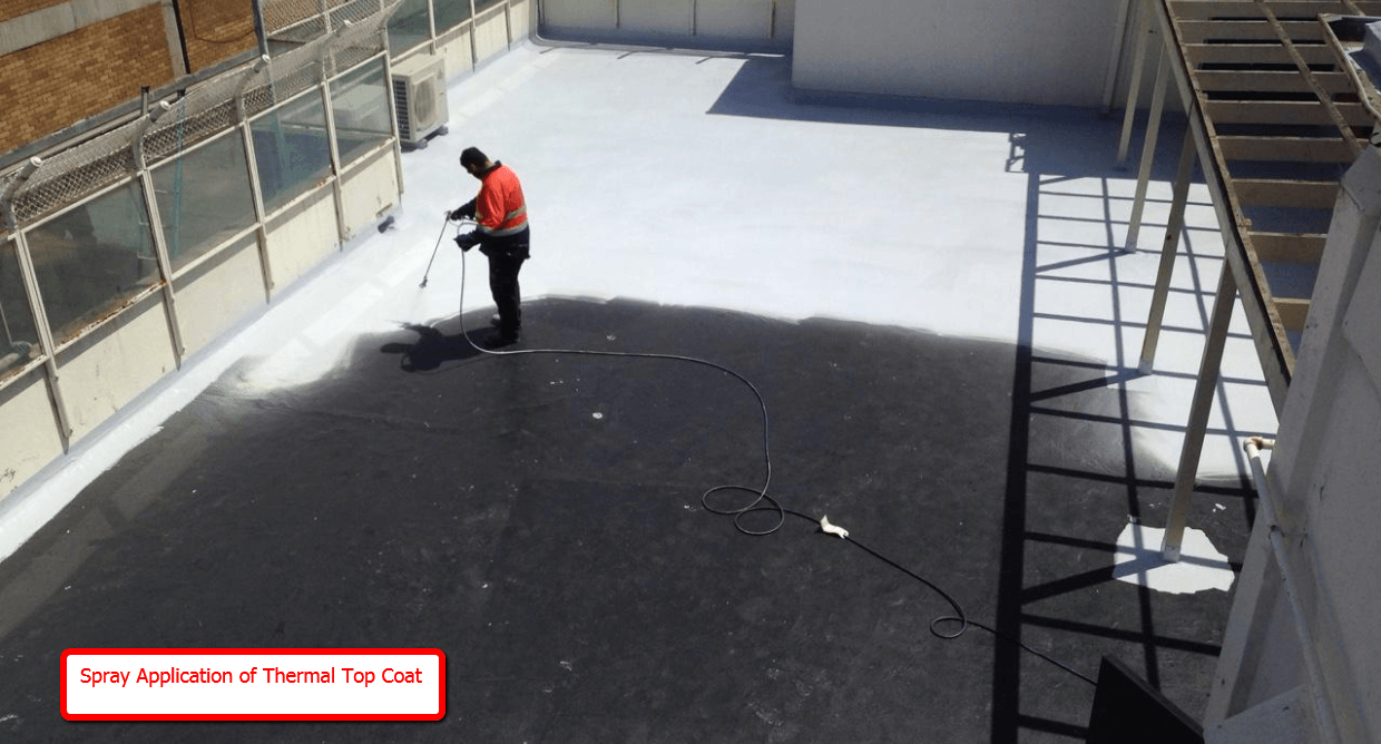 Roof Thermal Top Coat