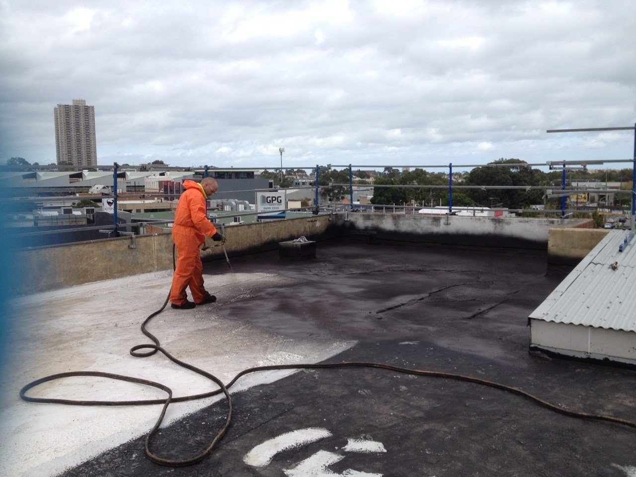 Flat Concrete Roof