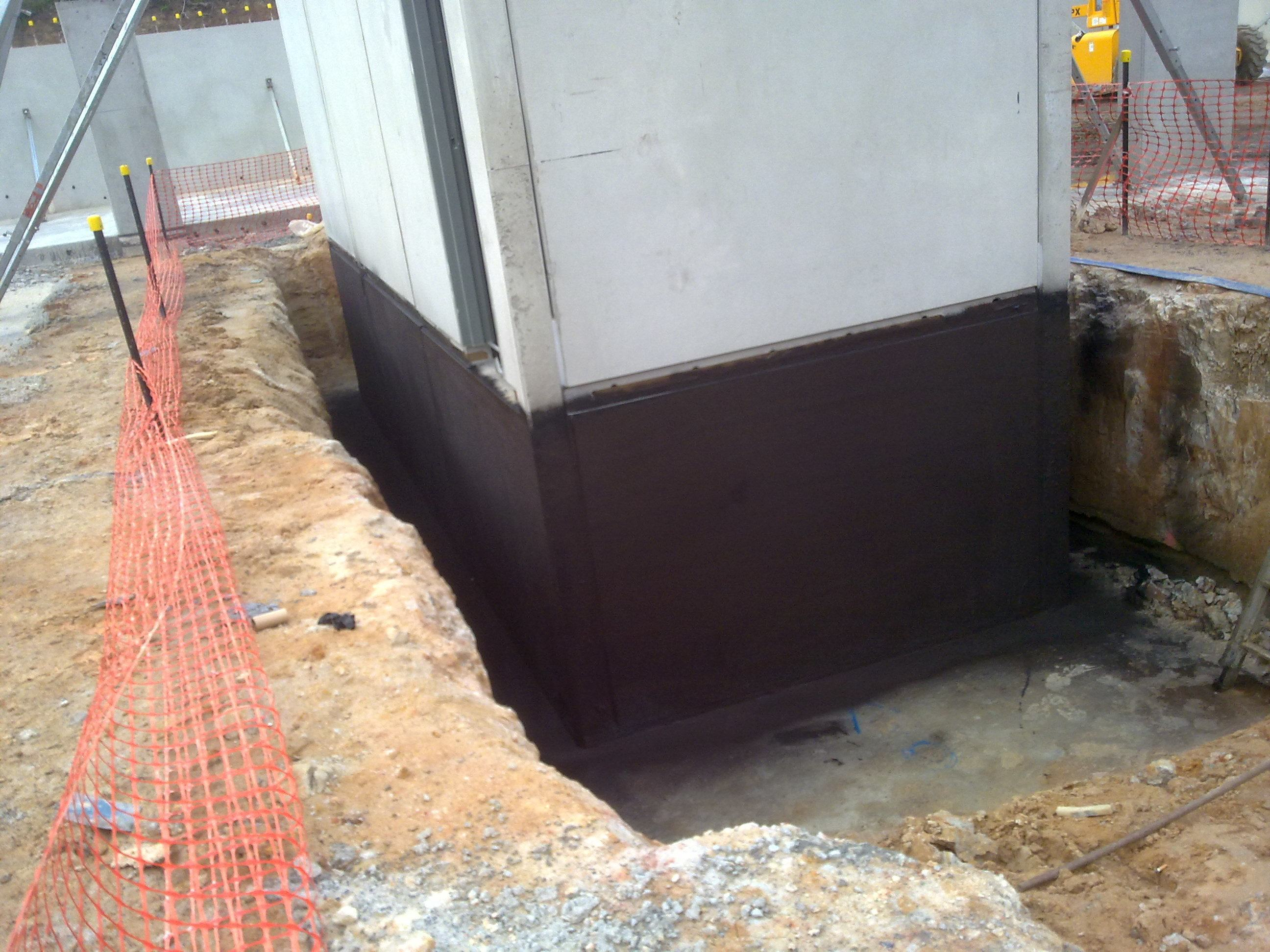 Waterproofing Membrane For Protection : Waterproof coatings below ground tanking basements