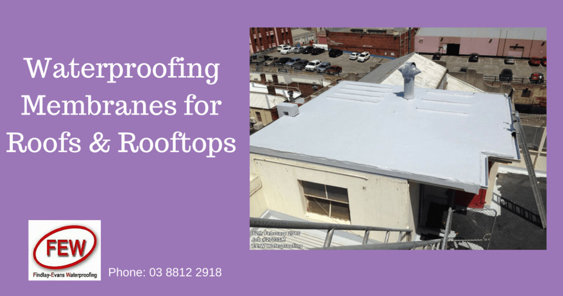 Waterproofing Roofs & Deck Areas