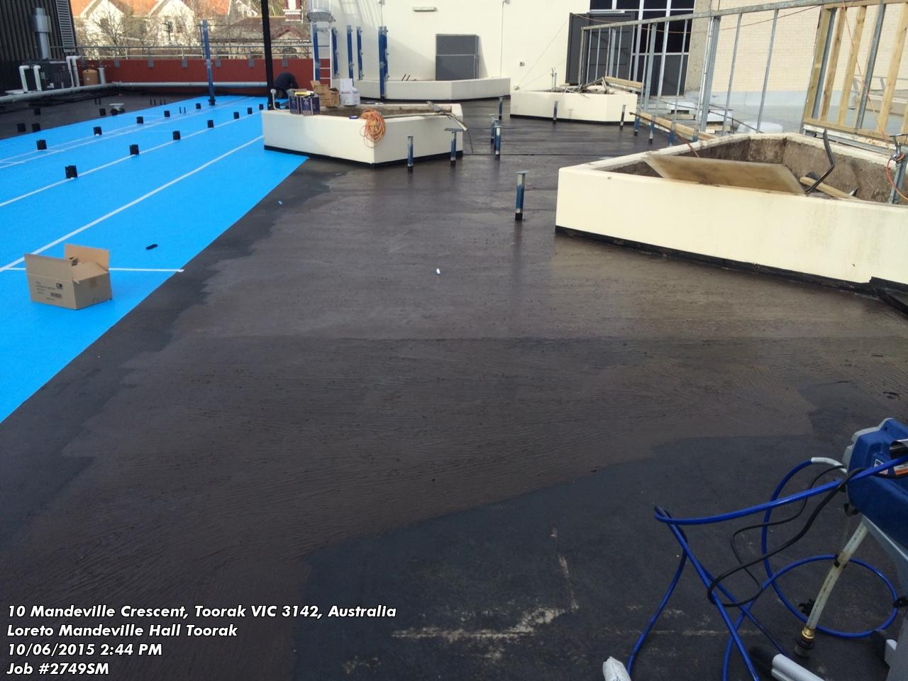 Waterproofing Flat Concrete Balcony