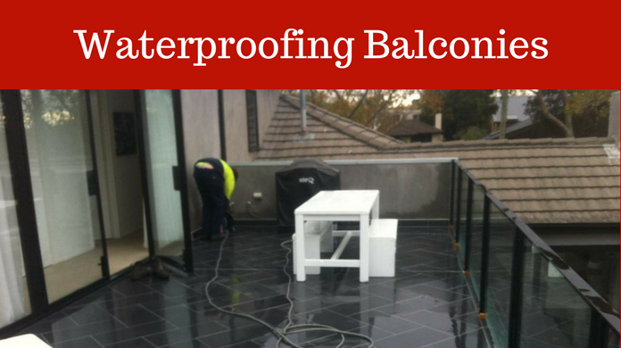 Waterproofing Balconies in Melbourne