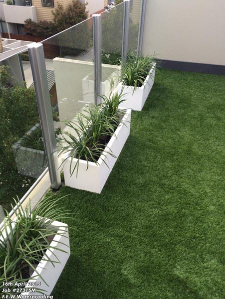 balcony-instant grass-Melbourne