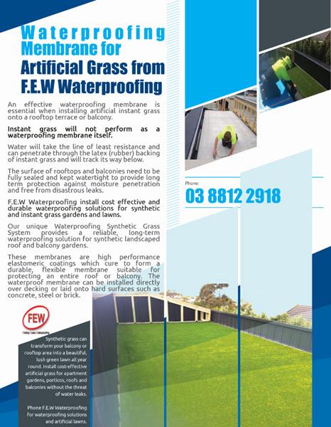 Balcony Instant Grass System