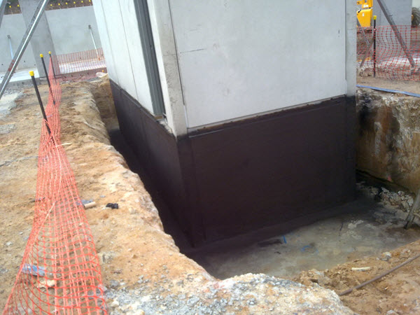 Lift Pit Waterproofing