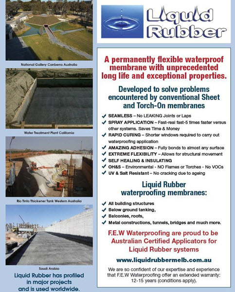 Liquid Rubber Applicators ors Melbourne