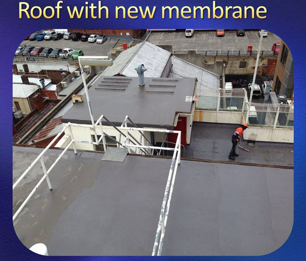 New Roof Membrane
