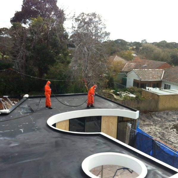Roof Liquid Spray Waterproofing Membranes