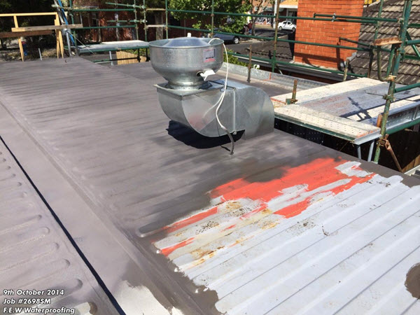 Waterproof Membrane-Metal Roof