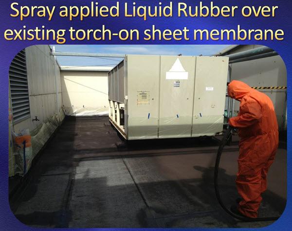 spray apply waterproofing membrane