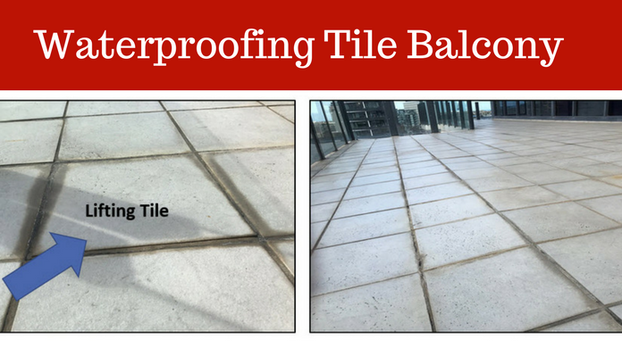 Waterproof a Balcony with Tiles-Melbourne