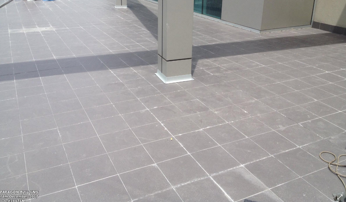 Melbourne Waterproofing Company –Tiled Balcony - Permanently